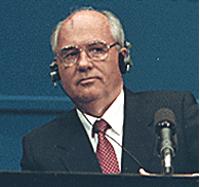 Mikhail Gorbachev in 1990 at Helsinki summit. ...