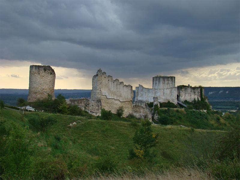 Château-Gaillard, von Wikimedia Commons user:Tango7174, Lizenz Gnu freie Dokumentation