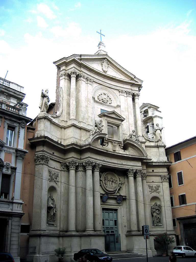 Sansovino. San Marcello al Corso - one of the oldest churches in Rome.