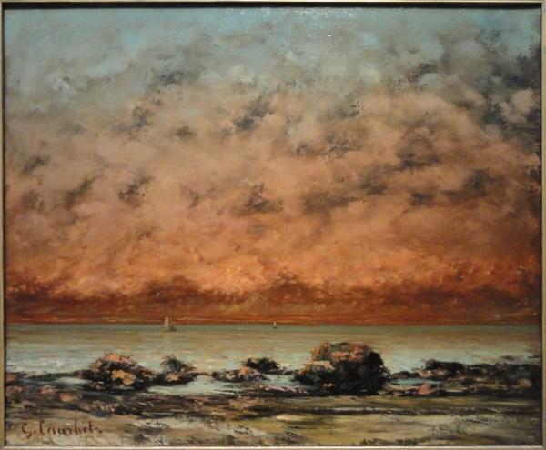 File Black Rocks Trouville Gustave Courbet 1865