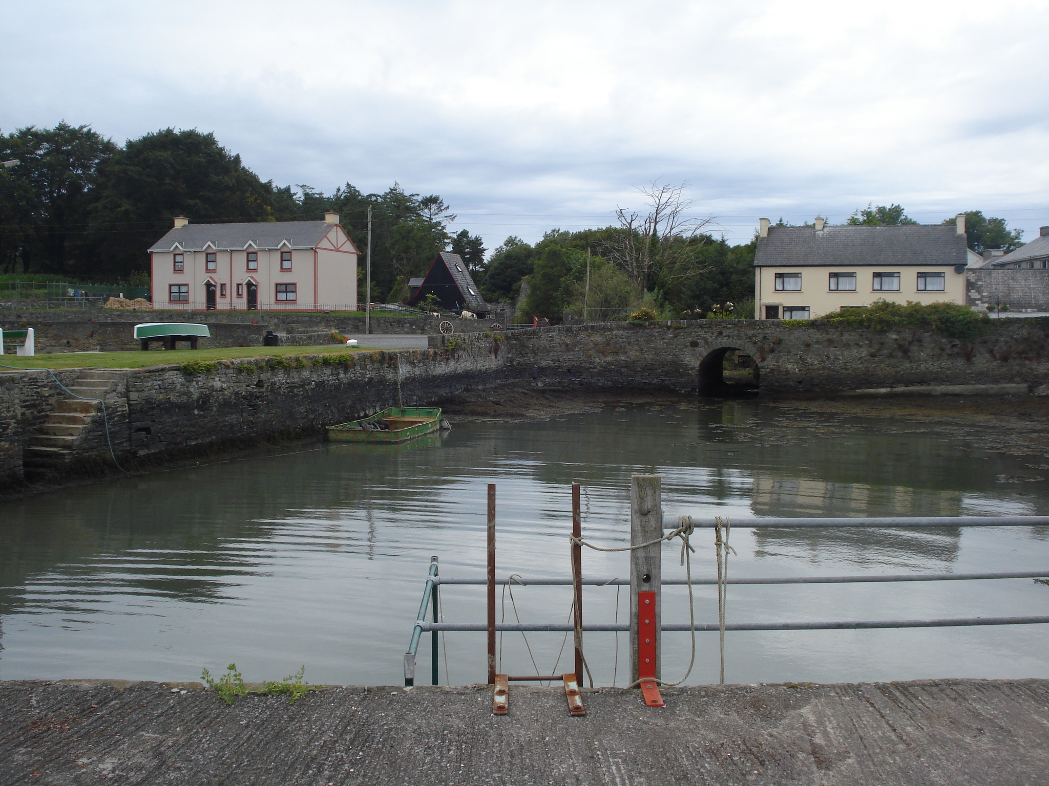 The little harbour of Knock, County Clare