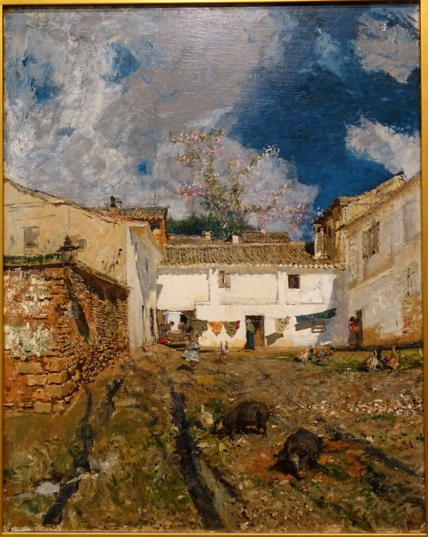 File Patio In Granada Mariano Fortuny Marsal 1873