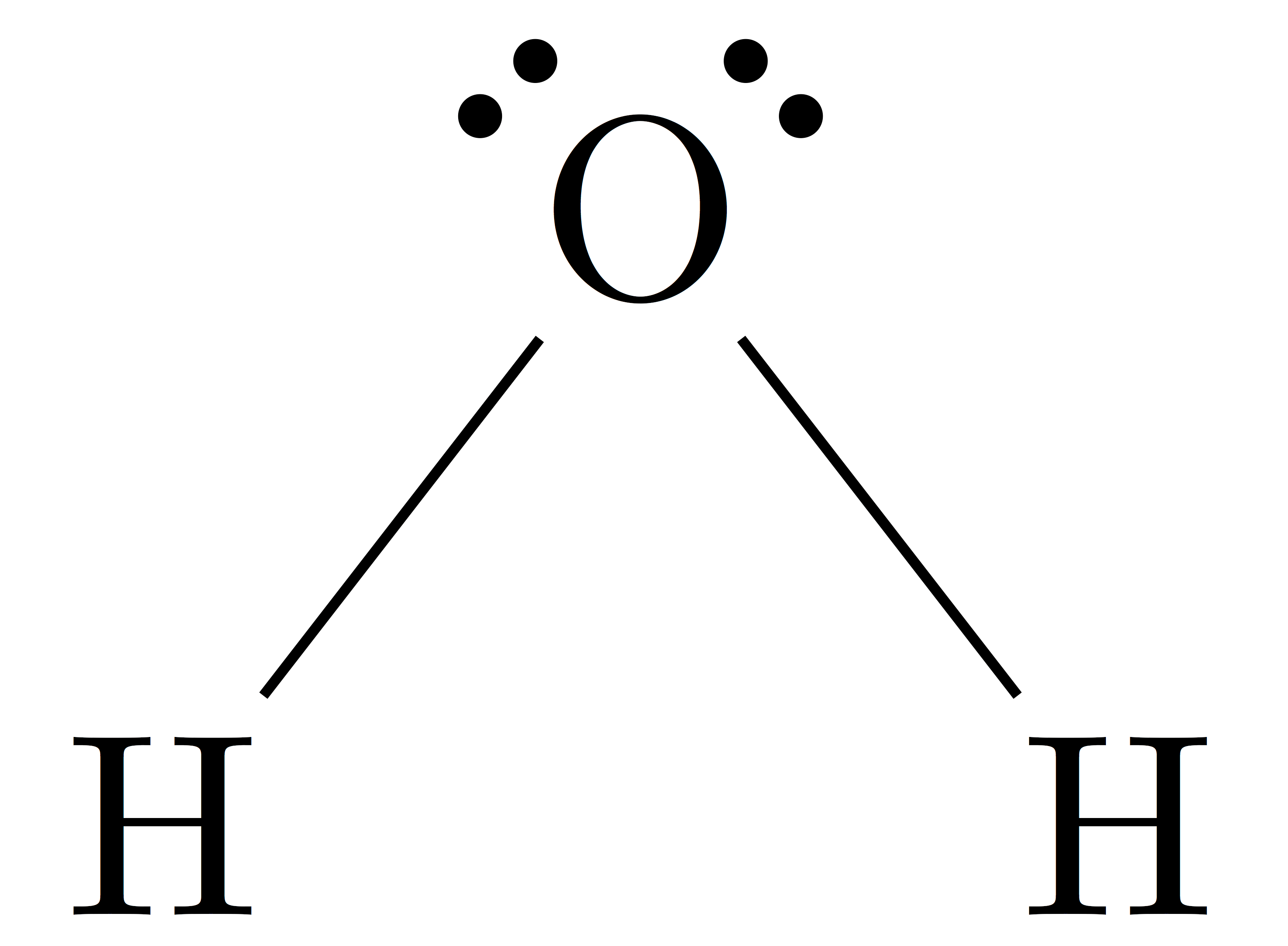 File H2o Lewis Structure