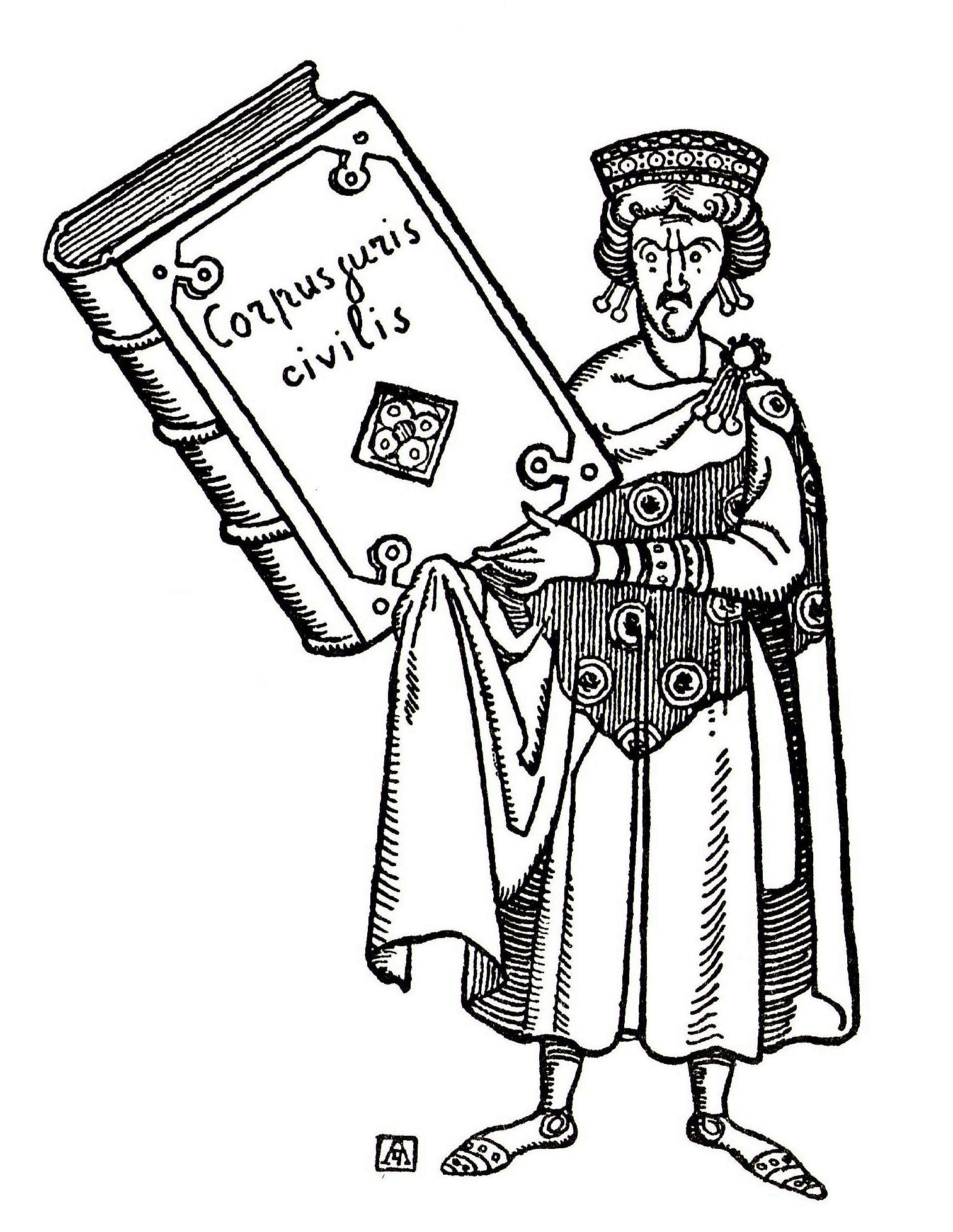 Corpus Juris Civilis Law: Created by a Byzantine Emperor