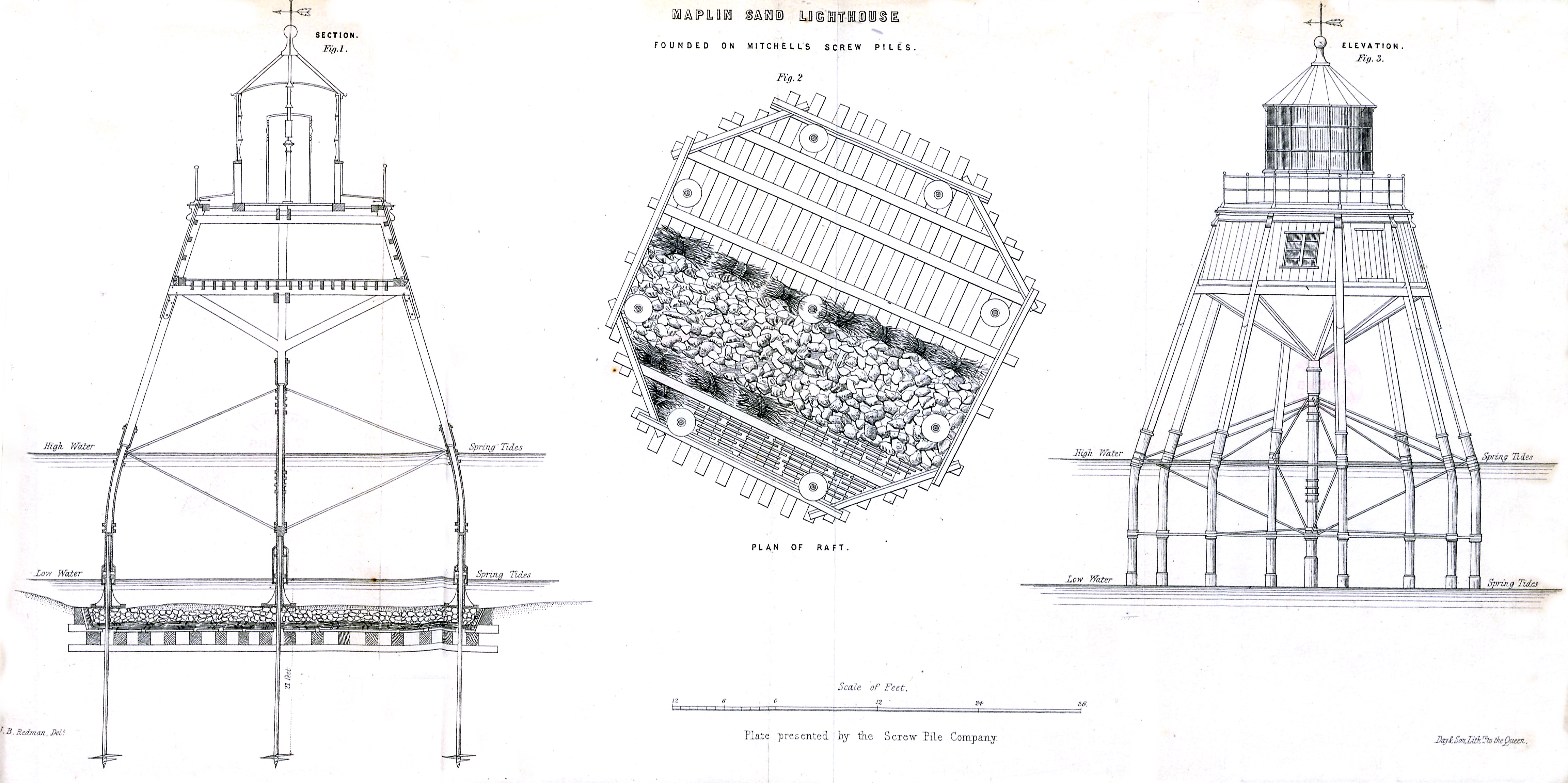 Archivo Maplin Sands Lighthouse Founded On Mitchells Screw