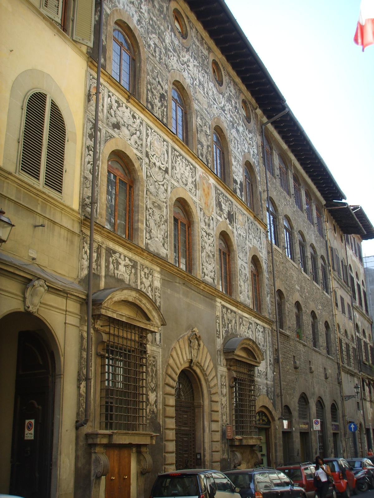 Palazzo di Bianca Cappello  Wikipedia