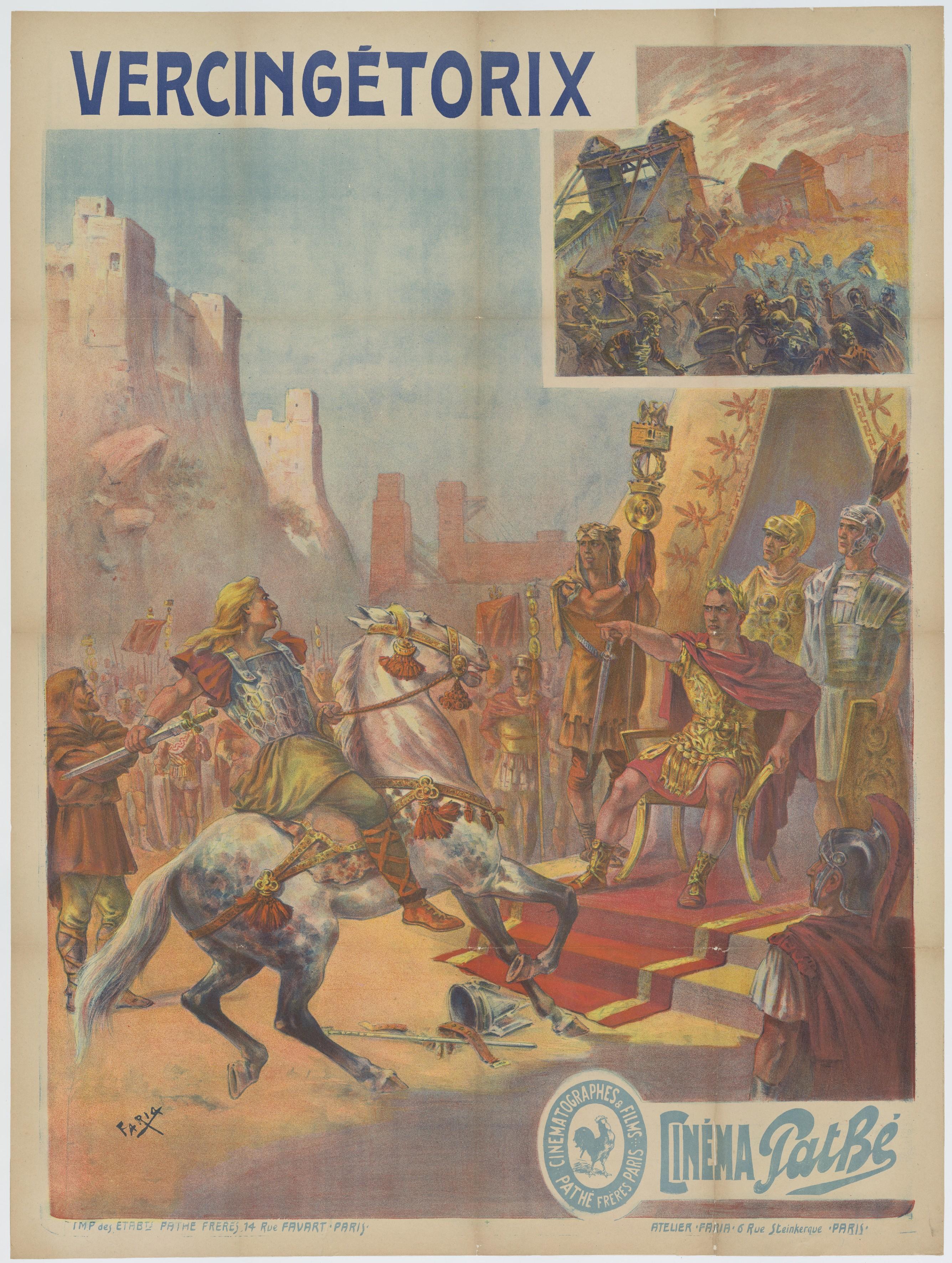 Vercingétorix La Légende Du Druide Roi : vercingétorix, légende, druide, Vercingetorix, Popular, Culture, Wikipedia