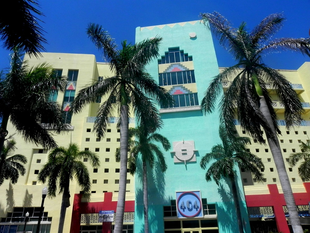 miami, art deco, building