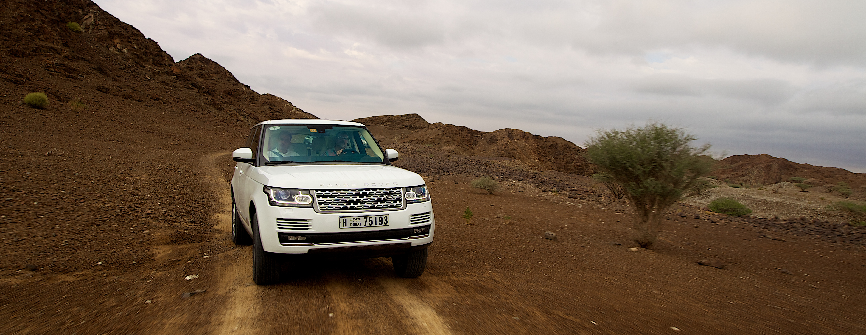 File All New Range Rover Media Ride and Drive Dubai UAE