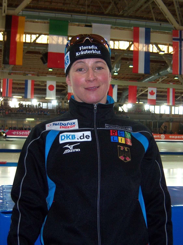 Claudia Pechstein, WM Berlin 2008