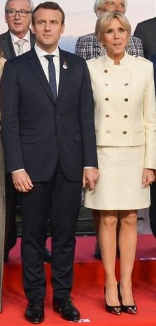 Brigitte Macron: son physique et sa minceur intriguent