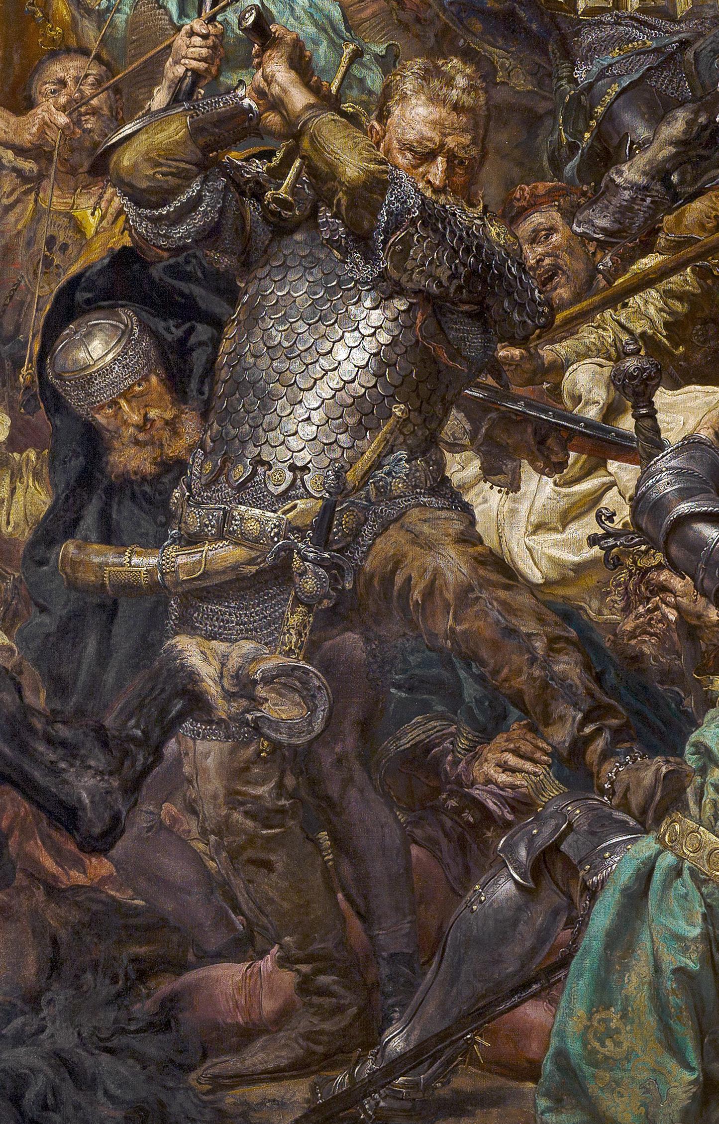 в битката при Грюнвалд