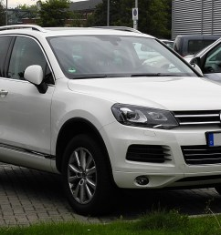 file vw touareg exclusive v6 tdi bluemotion technology ii frontansicht 30 [ 2352 x 1398 Pixel ]