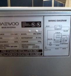 file daewoo electronics refrigerator plate jpg [ 1600 x 1200 Pixel ]