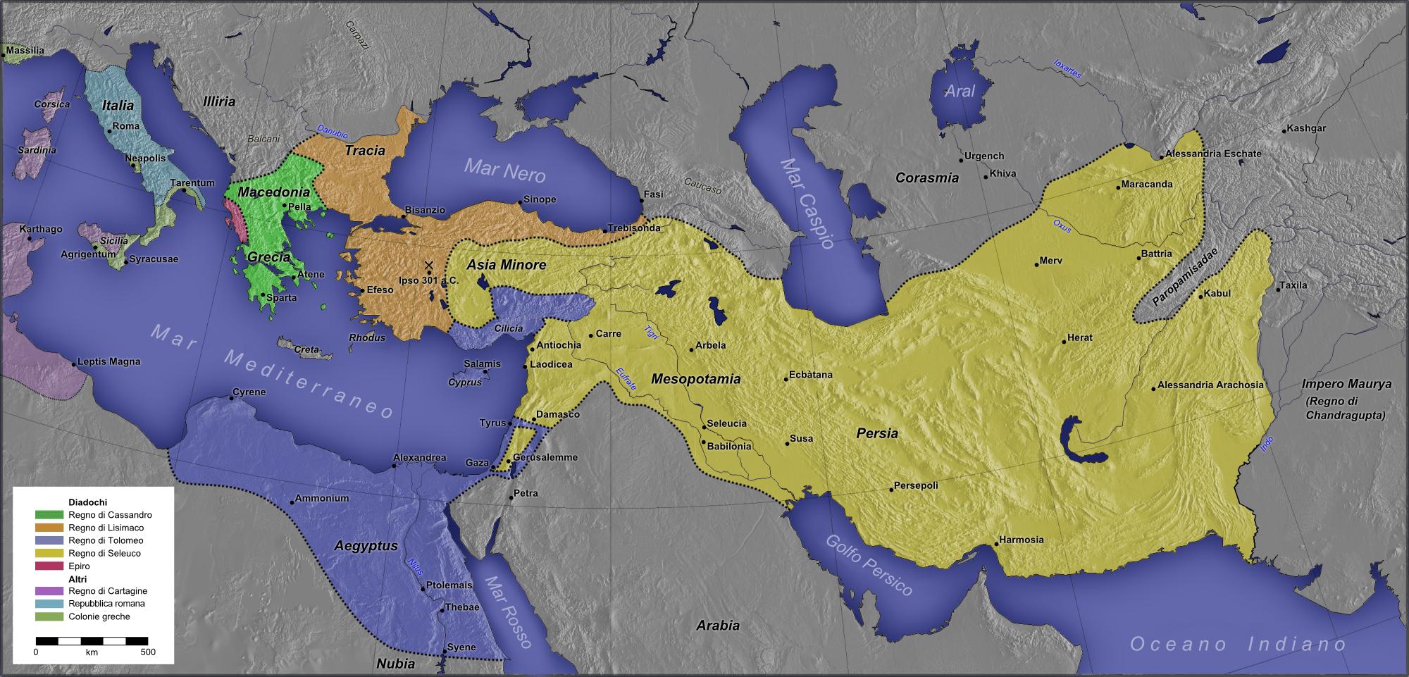 Estados helenísticos