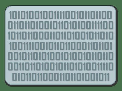 Exemple d'informations binaires. Cette suite est-elle aléatoire ? par Okno