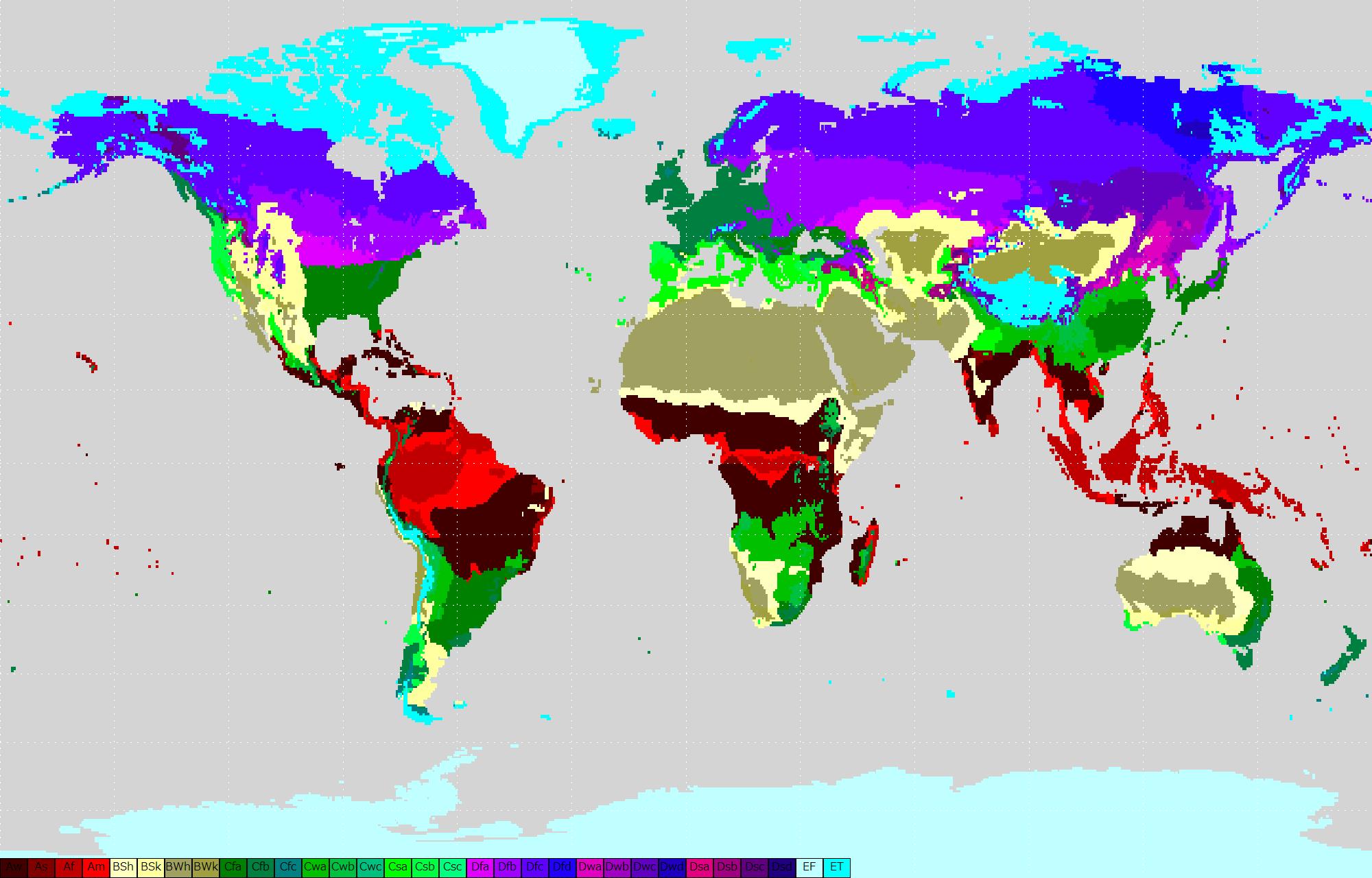 File Koppen Classification Worldmap Gray