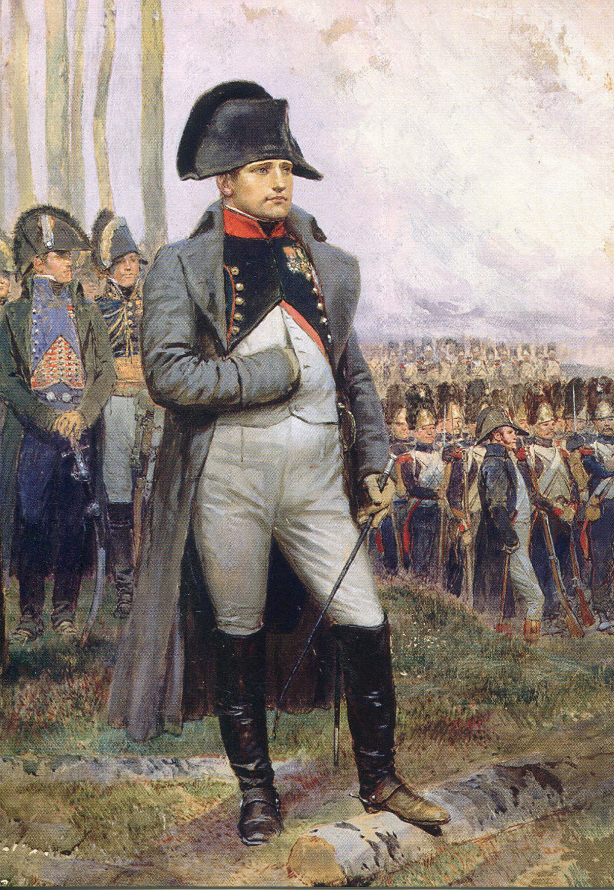 Édouard Detaille (1848–1912): Napoleon in 1806.