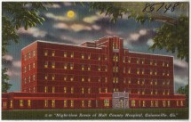 File Night-time Scene Of Hall County Hospital Gainesville