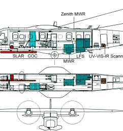 file surveillance aircraft schematic png [ 1800 x 1200 Pixel ]