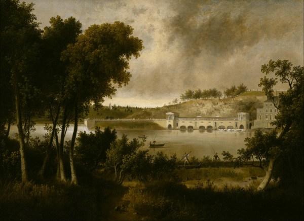 File Thomas Doughty - View Of Fairmount Waterworks Philadelphia Side