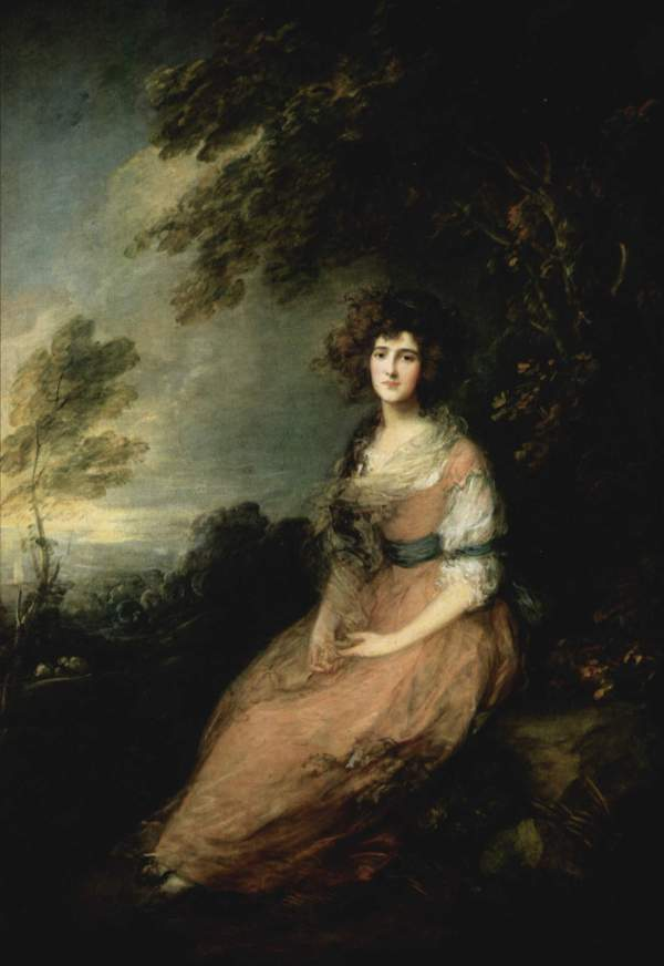 Gainsborough Mrs. Richard Brinsley Sheridan
