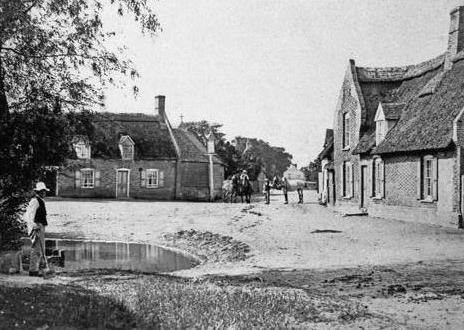 Little Thetford, Cambridgeshire in 1906.