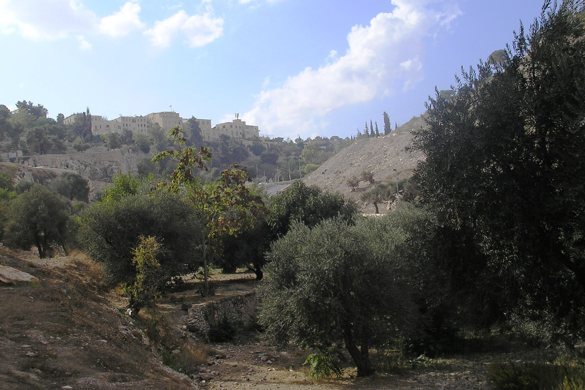 Deror Avi, Valley of Hinnom, October 19, 2007.