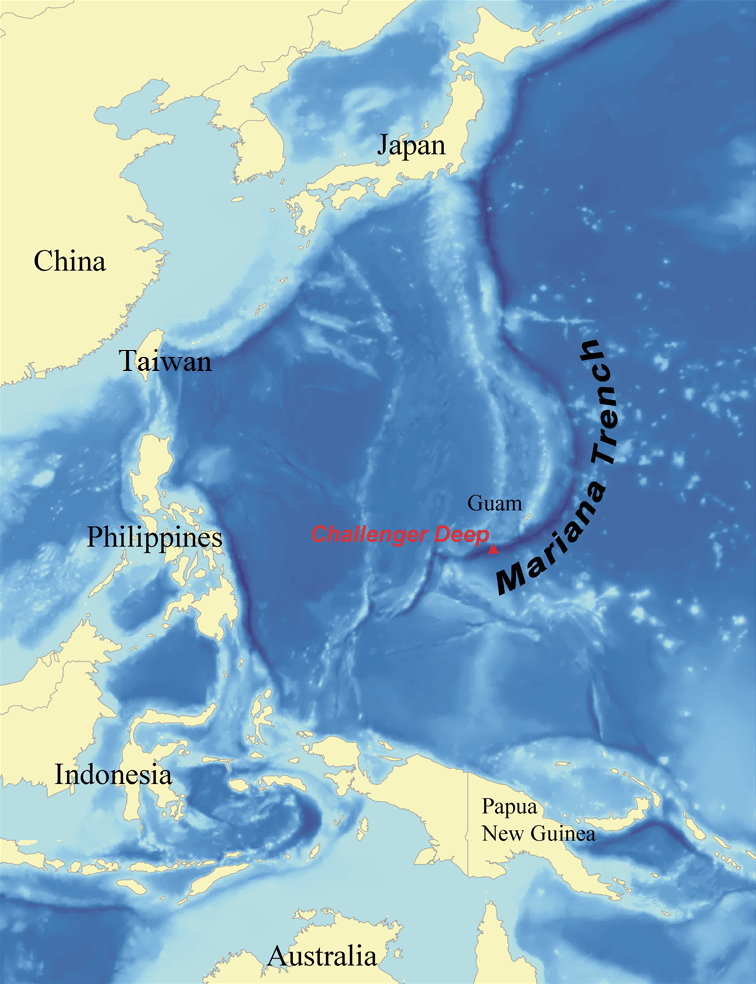 Trench Map : trench, Mariana, Trench, Wikipedia