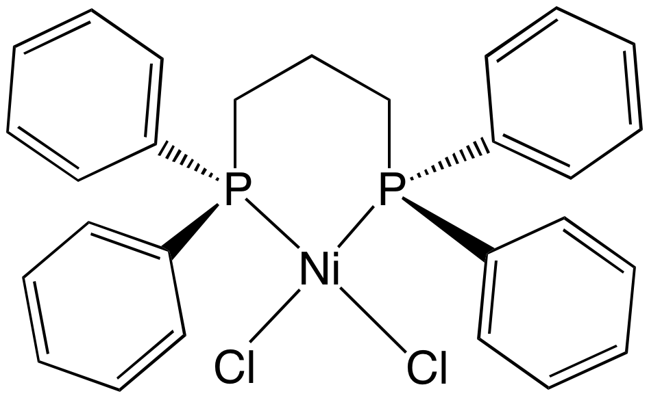 Dicloro (1,3-bis (difenilfosfino) propano) nichel