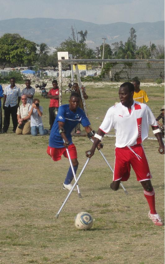 Amputee football  Wikipedia