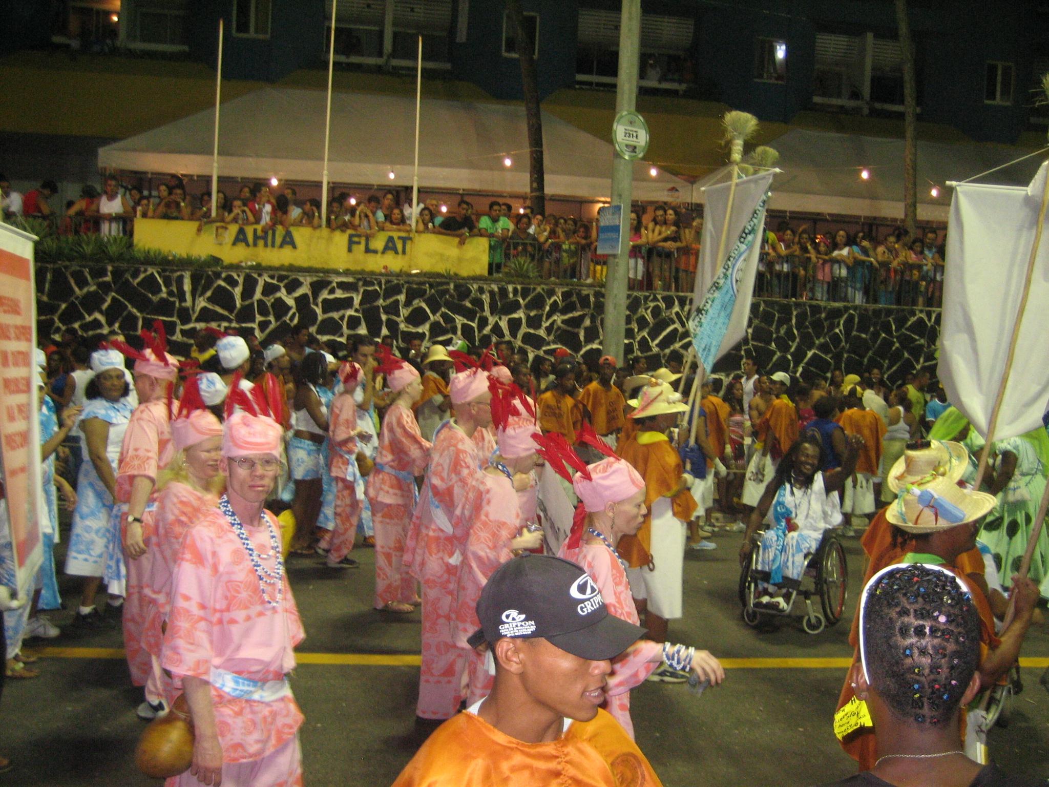 Brazilian albino pride