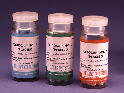 Prescription placebos used in research and pra...