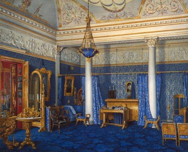 File Hau. Interiors Of Winter Palace. Bedchamber