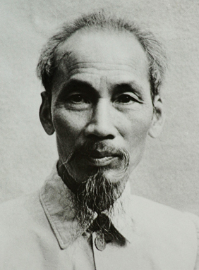 Portrait of Ho Chi Minh