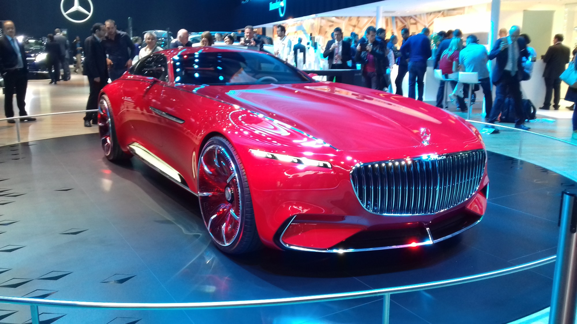 hight resolution of mercedes maybach 6