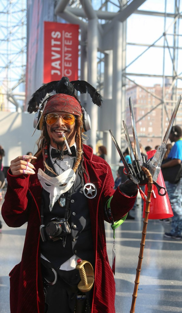 File York Comic 2015 - Johnny Depp Characters