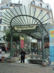 File Paris Metro Entrance