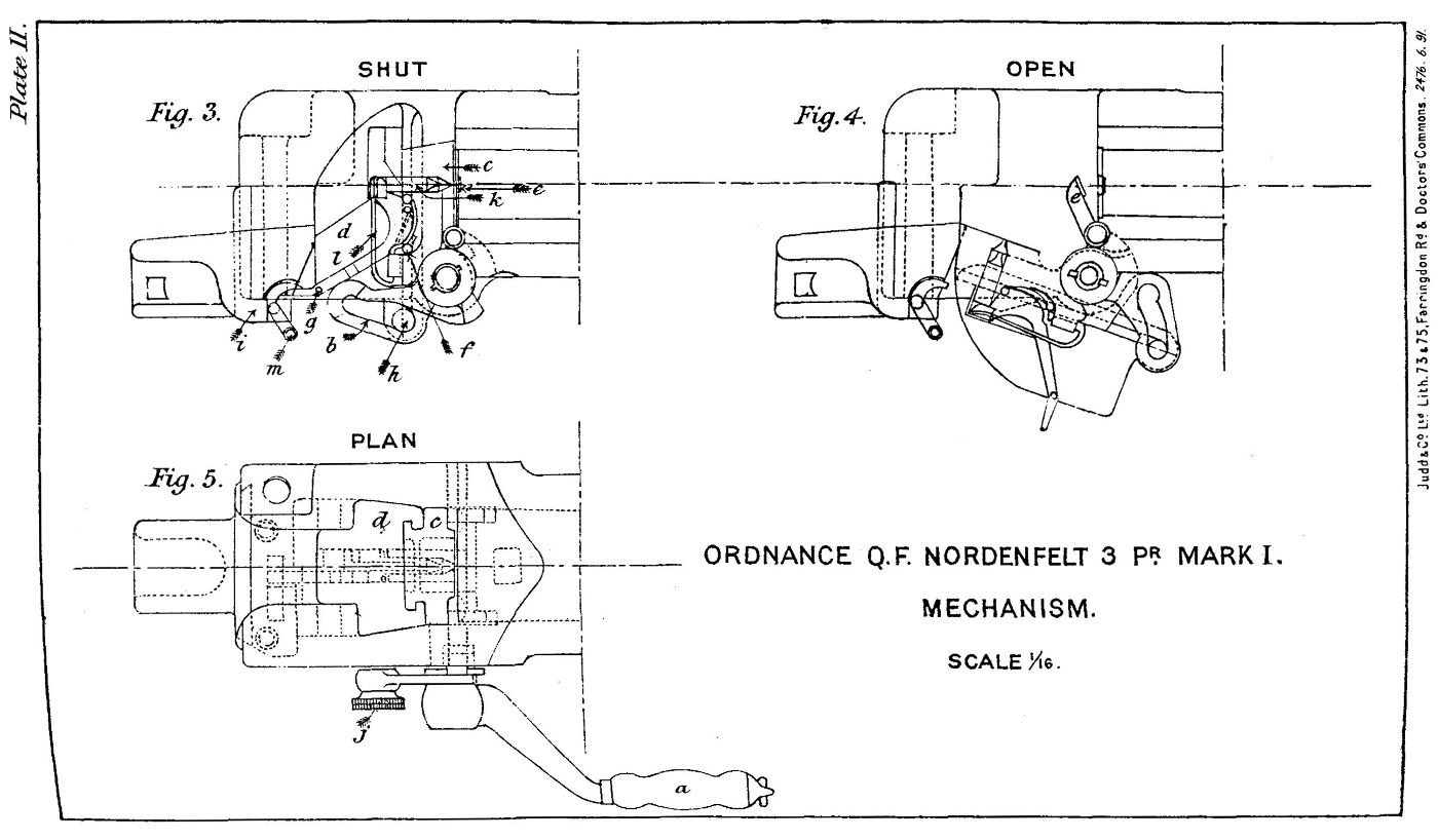 File Qf 3 Pounder Mark I Nordenfelt Breech Mechanism