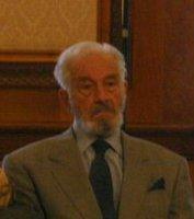 English: Sergiu Nicolaescu during a senate hea...