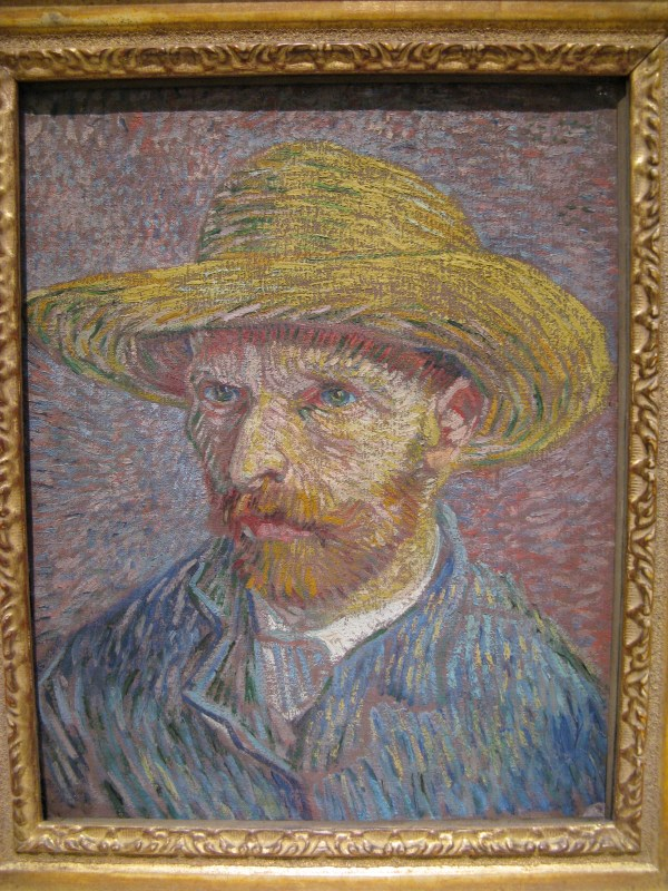 File Vincent Van Gogh-portrait With Straw Hat