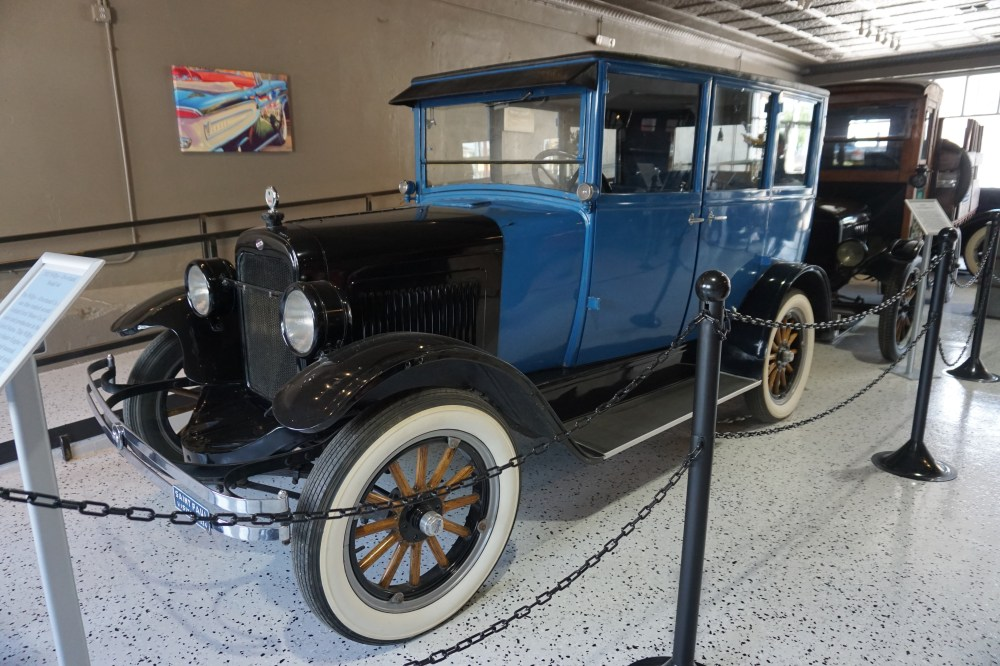 medium resolution of a 1923 willys overland model 64 at the vintage car museum event center in weatherford texas