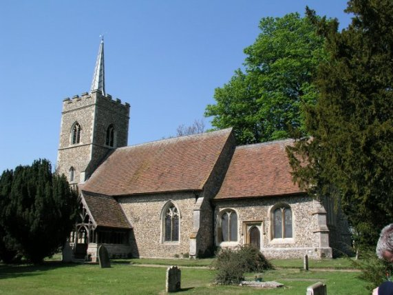 St Edmmund's parish church, Abbess Roding, Essex