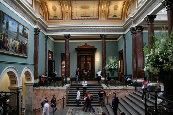Inside National Gallery London