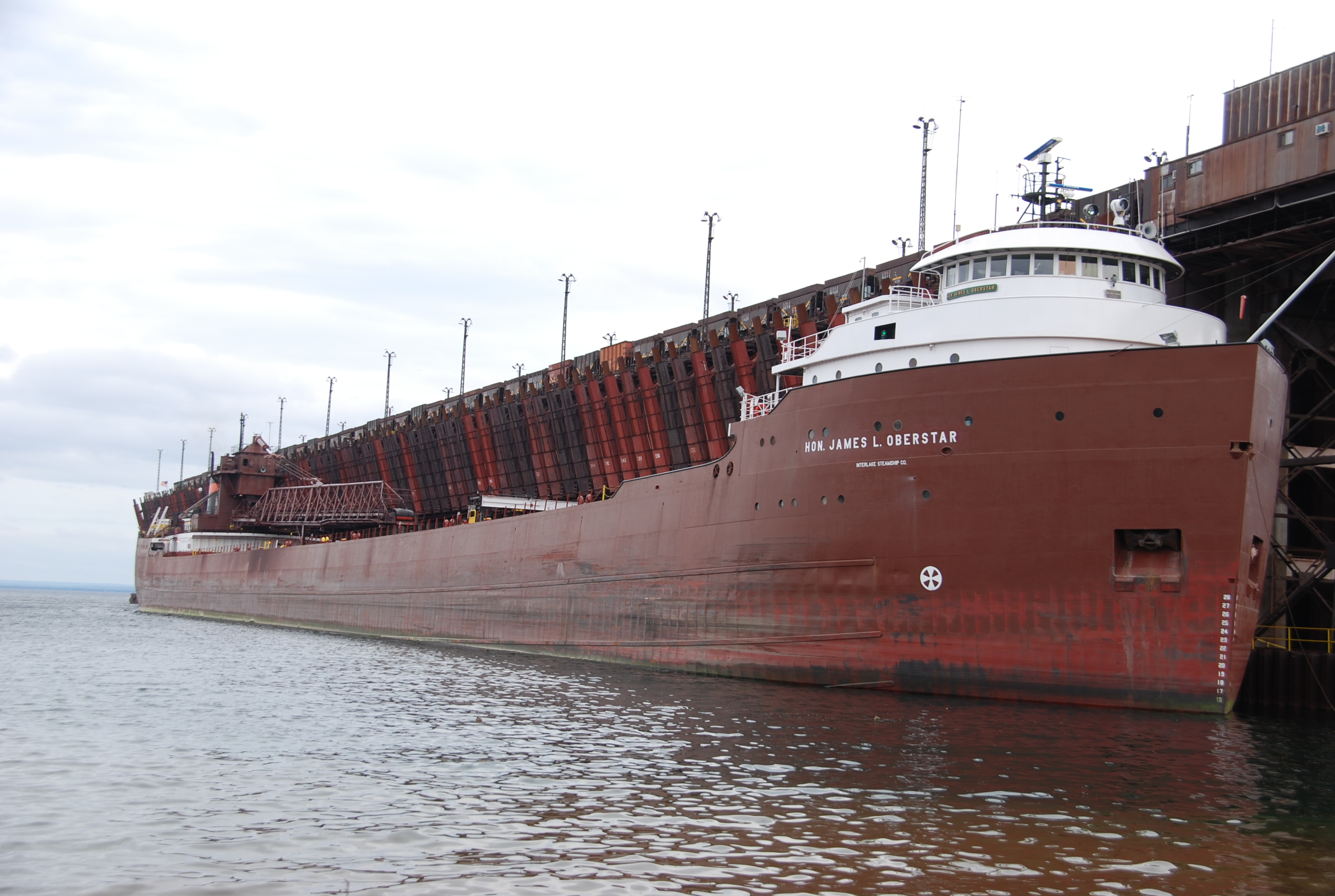 FileThe Hon James L Oberstar Iron Ore Freighter At The