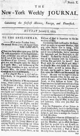 1733 NYWeeklyJournal Jan7