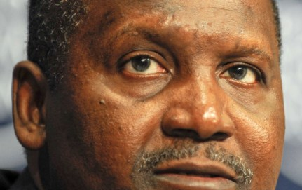 Photo of Aliko Dangote
