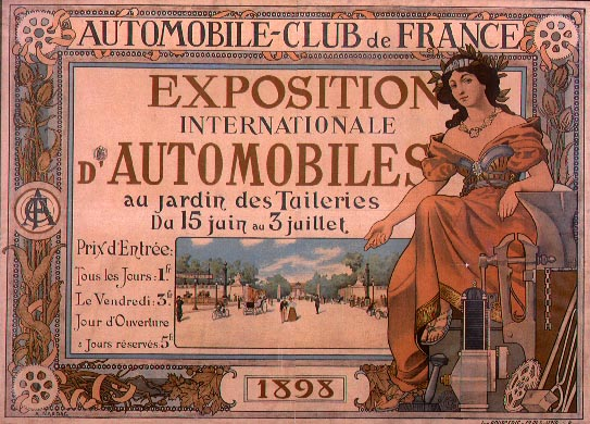 Salon de lautomobile de Paris 1898  Wikipdia