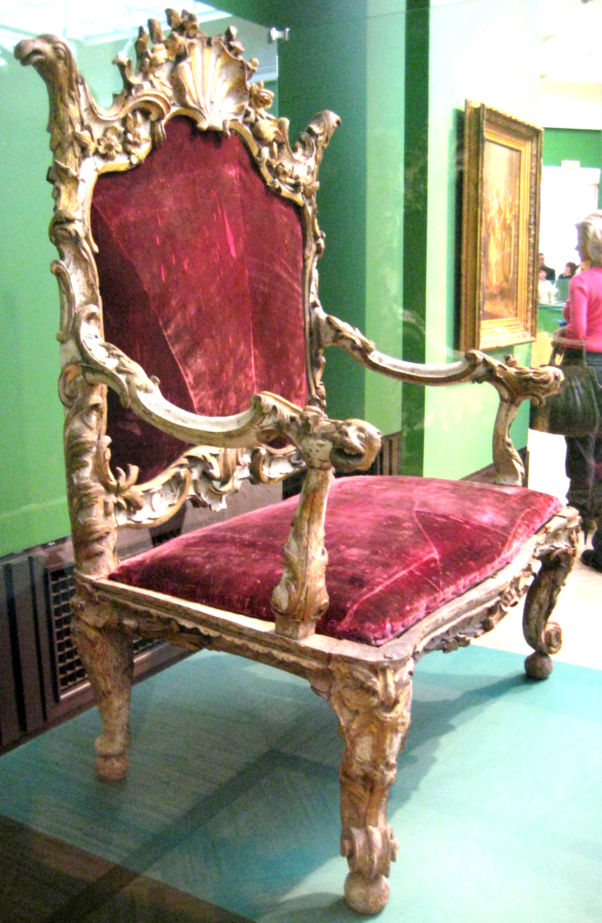 Bishop's Chair File Bishop 39s Chair Russia 18 C Jpg Wikimedia Commons