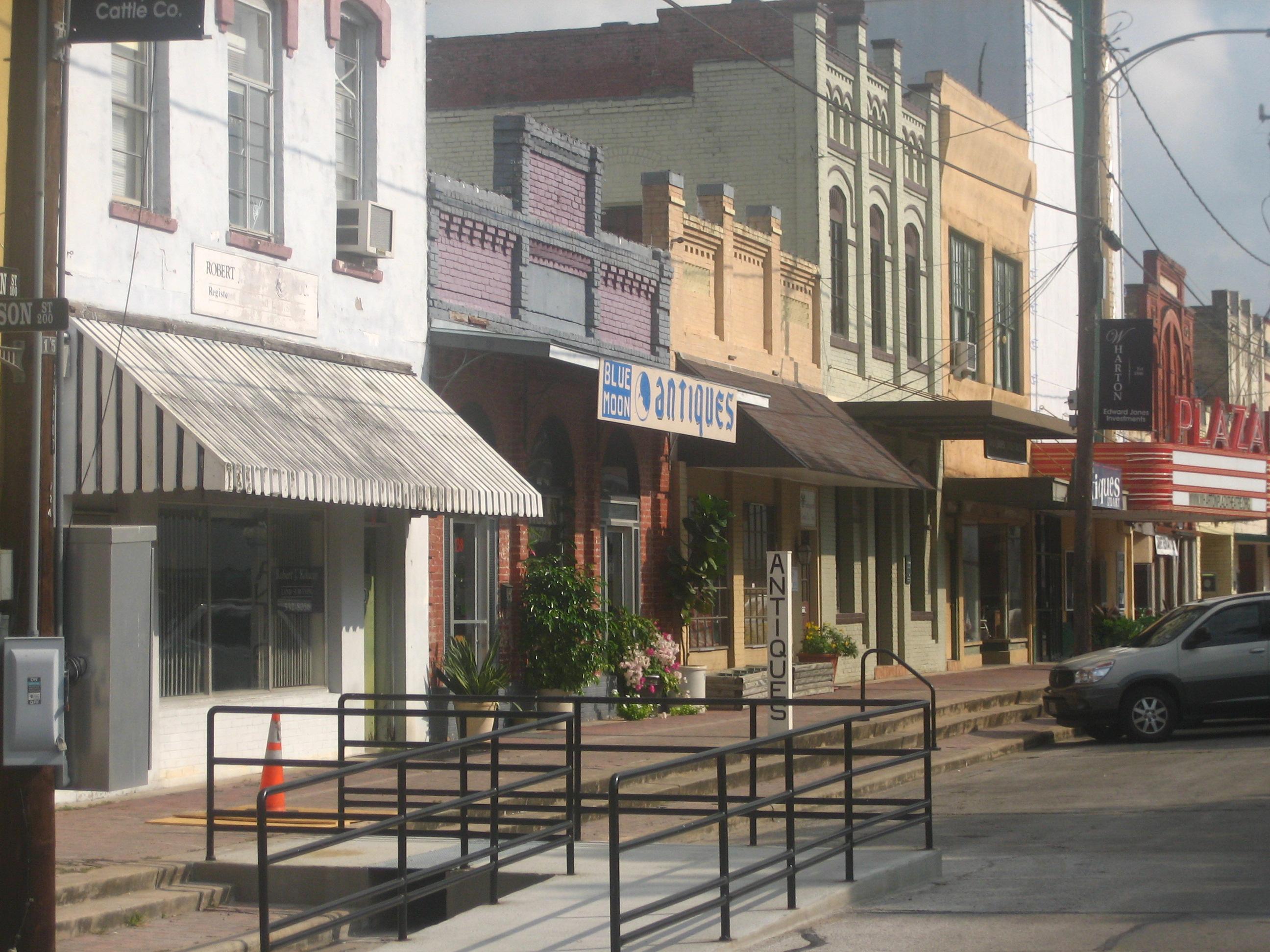 FileDowntown Wharton TX IMG 1031JPG  Wikimedia Commons